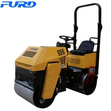 China for 800Kg Road Roller Ride On 1ton Vibratory Double Drum Roller export to Guinea-Bissau Factories