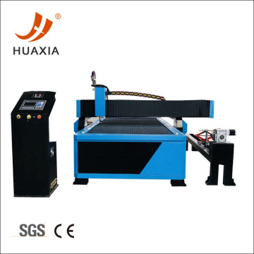 CNC tube profiling shape plasma cutting machine