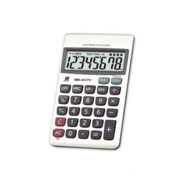 8-digit handheld calculators with pocket series
