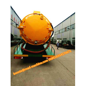 Suction Sewer Cleaning Sewage Truck