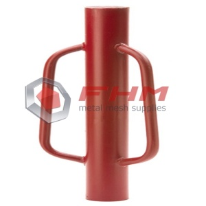 Manual Metal Paint Red T Post Heavy Driver