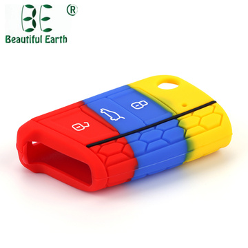 Hot Sale Golf 7 Silicone Car Key Case