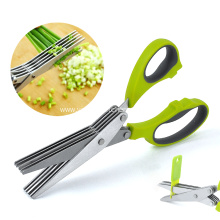 China for Ceramic Food Scissors Multi-function kitchen onion scissors supply to Russian Federation Importers