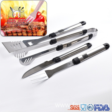 China for Barbecue Utensils Set Factory price stainless steel bbq grilling tool set supply to Italy Suppliers