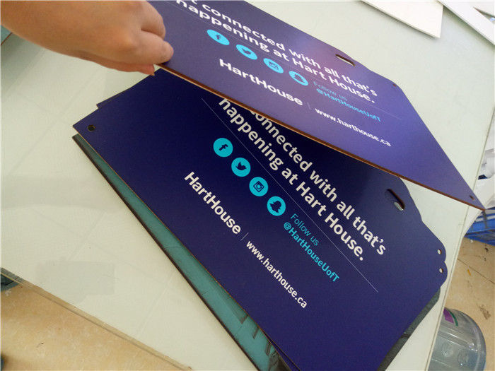 Outdoor Printing Die Cut PVC Foam Board