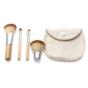 4pcs Vegan Private Label makeup Blush brushes set