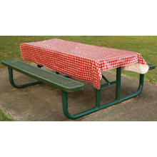Pvc Printed fitted table covers Squares Table Runner