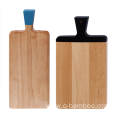 Beech wood cutting board with handle painting