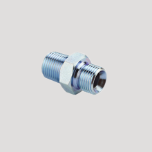 BSP male 60°cone-NPT male hydraulic adapters