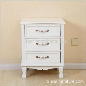 Bedroom Arts Crafts solid Nightstand cherry Finish