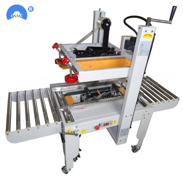 Karton Box Sealer Semi Automatic Packaging Machine