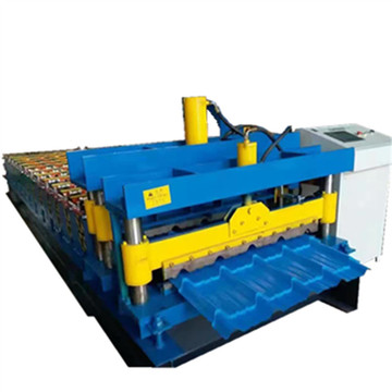 DX good price glazed tile roll forming machine