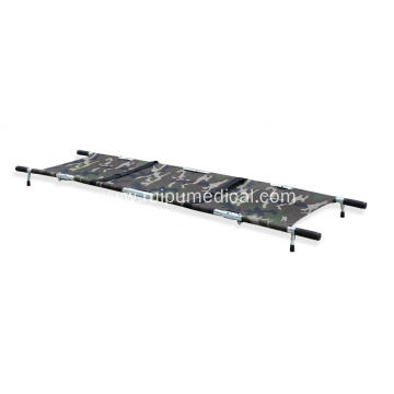 Hospital Military Aluminum Medical Quarter Folding Stretcher