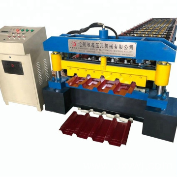 Building materials of roofing making machine