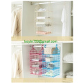 Hanging Closet Organizer with Plastic Shelves Hanging Shelves