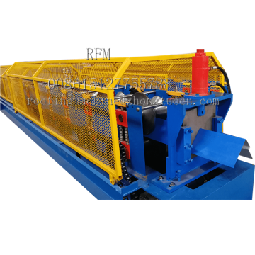 Roof Metal Ridge Cap Roll Forming Machine