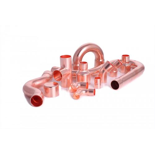 Refrigeration copper fitting P-trap