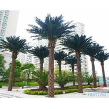 Green Artificial Palm Tree