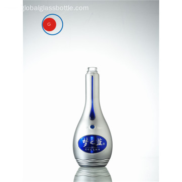 Semigloss Spirit Liquor Glass Bottle