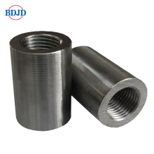 OEM China High quality for Construction Cylindrical Rebar Coupler Concrete Construction Rebar Connector supply to United States Factories