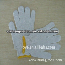 10 gauge cotton knitted gloves cotton gloves