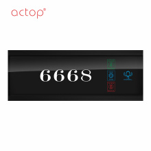 Special for Hotel Room Number Signs Doorplate Smart hotel RCU System door plate actop supply to Russian Federation Factories