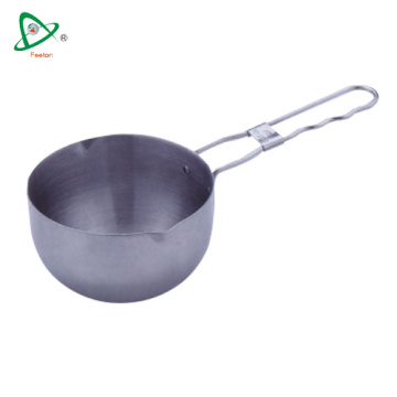 High quality mini sauce pot with long handle