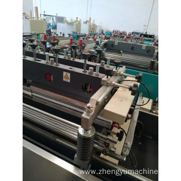 plastic center seal bag making machine