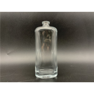 50ml Clear Square Glass Perfume Bottle With Spray