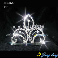 Rhinestone Crowns Cheap Wedding Tiara TR-12126