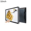 Win 10 pro OS Wall mount touch screen PC