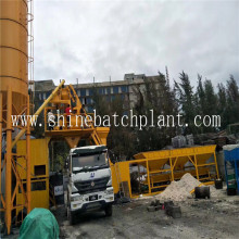 No Need Foundation Concrete Mixing Plant