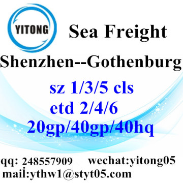 Shenzhen Sea Freight Shipping Agent to Gothenburg