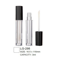 Empty Square Cosmetic Lip Gloss Packaging