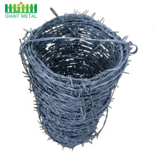 High-quality Galvanized Reverse Twist Barbed Wire Per Roll
