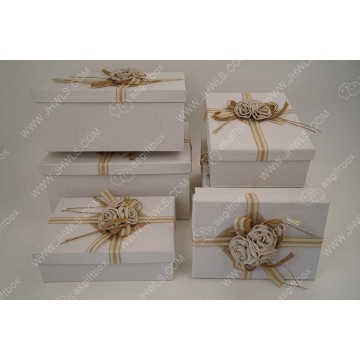 Wholesale various shapes jewelry box design for present