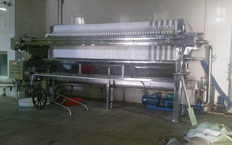 Chamber Stainless Steel Filter Press