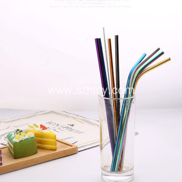 Food Grade 304 Stainless Steel Straws Straws