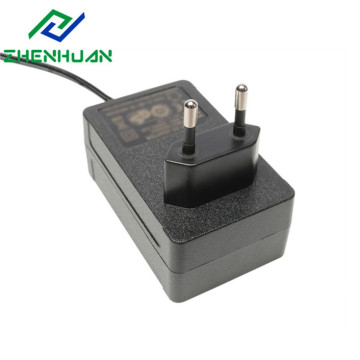 36W 12Volt/24Volt UK Blade AC DC Power Adaptor