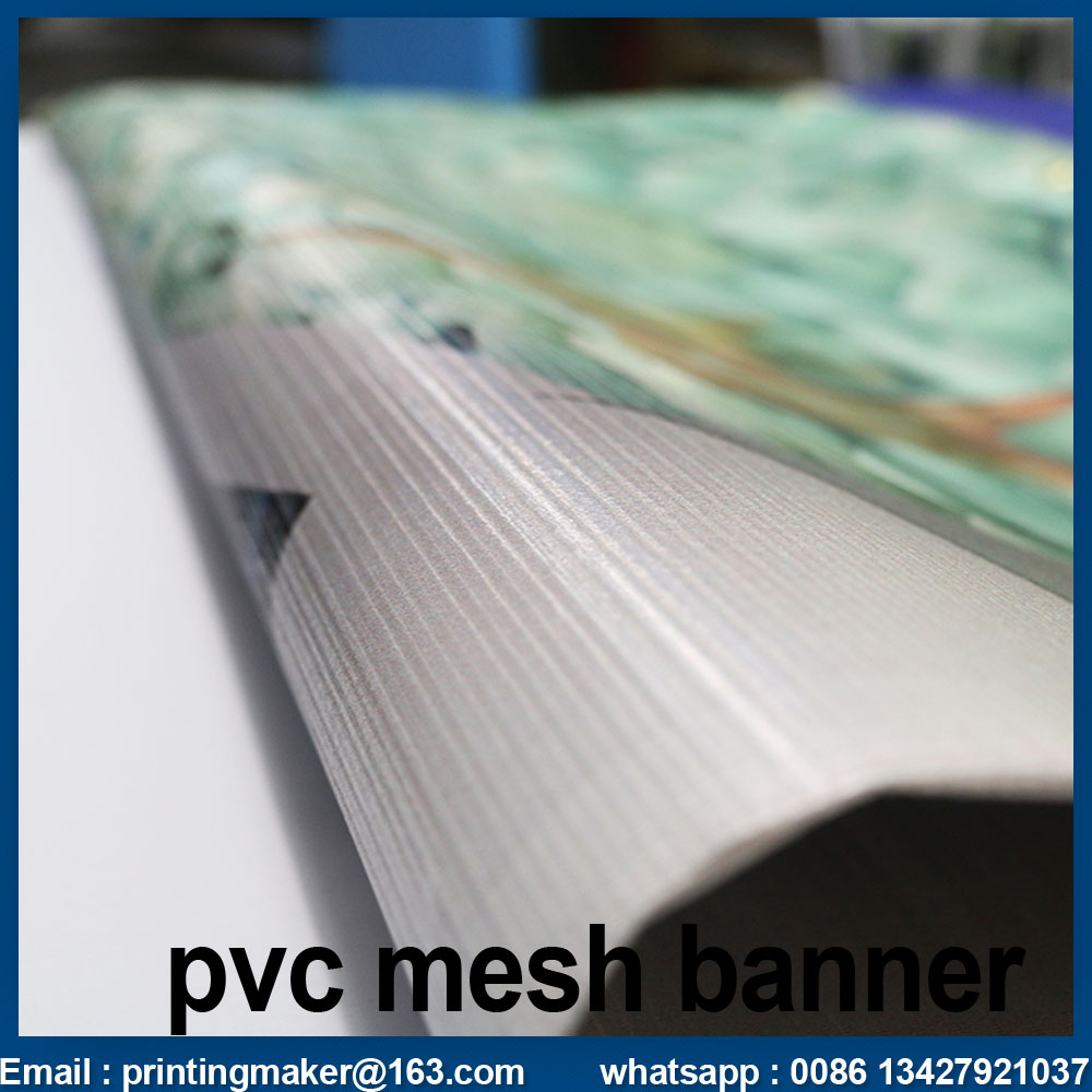 Customized Mesh Banner