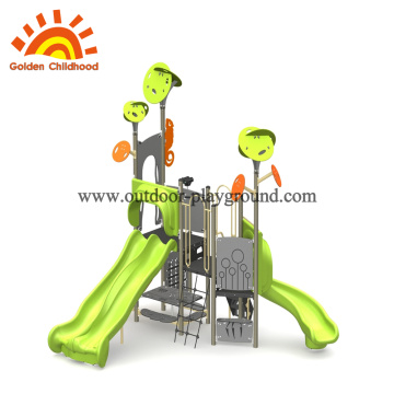 Rainforest Style Outdoor Playground Equipment For Sale