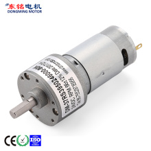 Best Price for for 37Mm Dc Gear Motor 24 volt dc gear motor export to Indonesia Suppliers