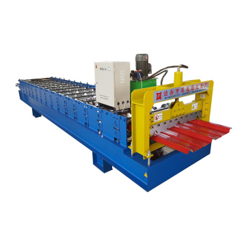 Trapezoidal Metal Sheet Roll Forming Machine For Sale