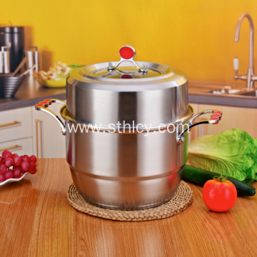 Large Capacity Multifunctional Stainless Steel Pot
