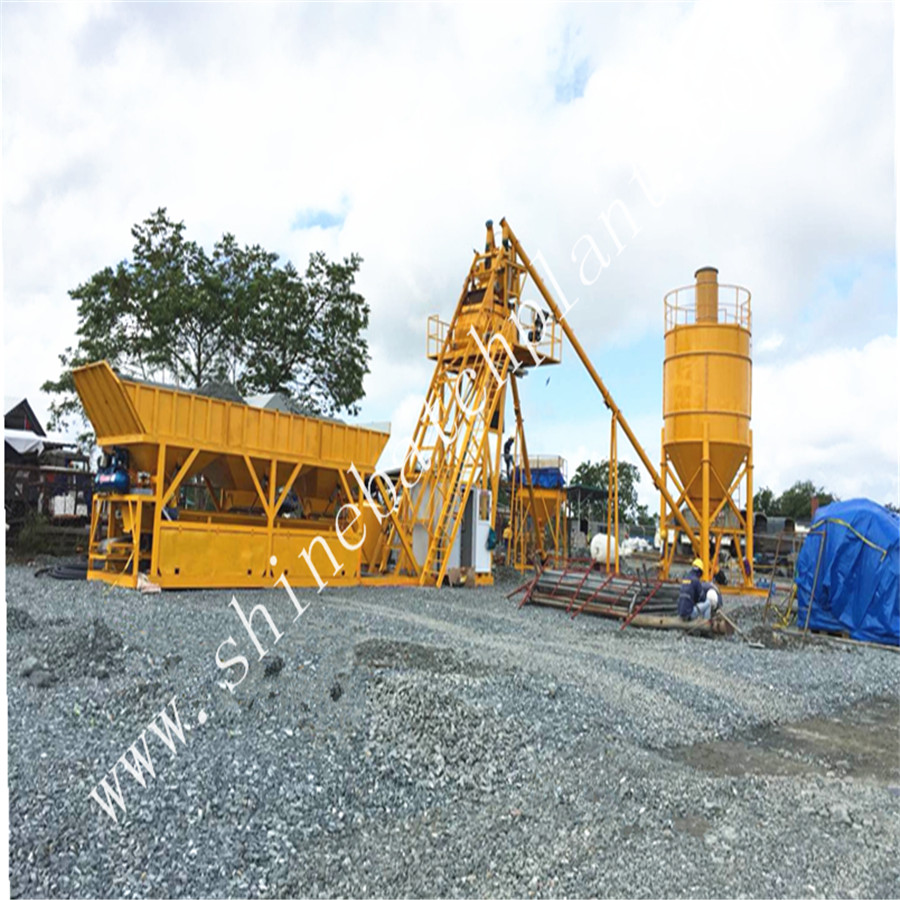 No Foundation Concrete Batching Plant 03