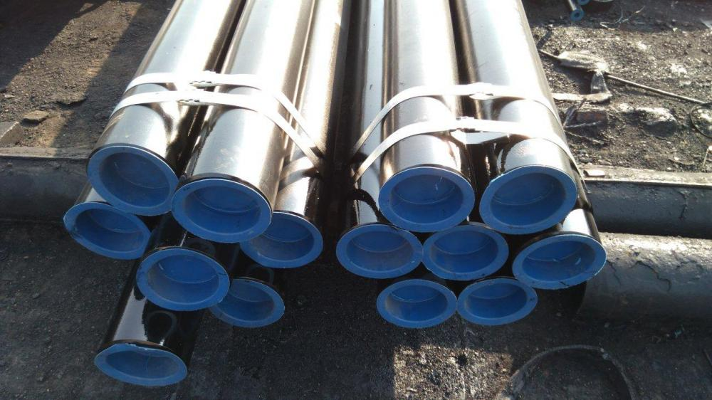 seamless pipes with cap