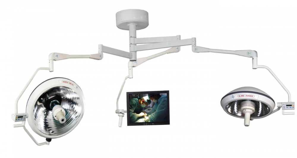 Medical Integral halogen operating lamp