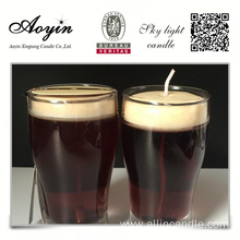 Decorative Gel Wax Beer Candle/Jelly Candle