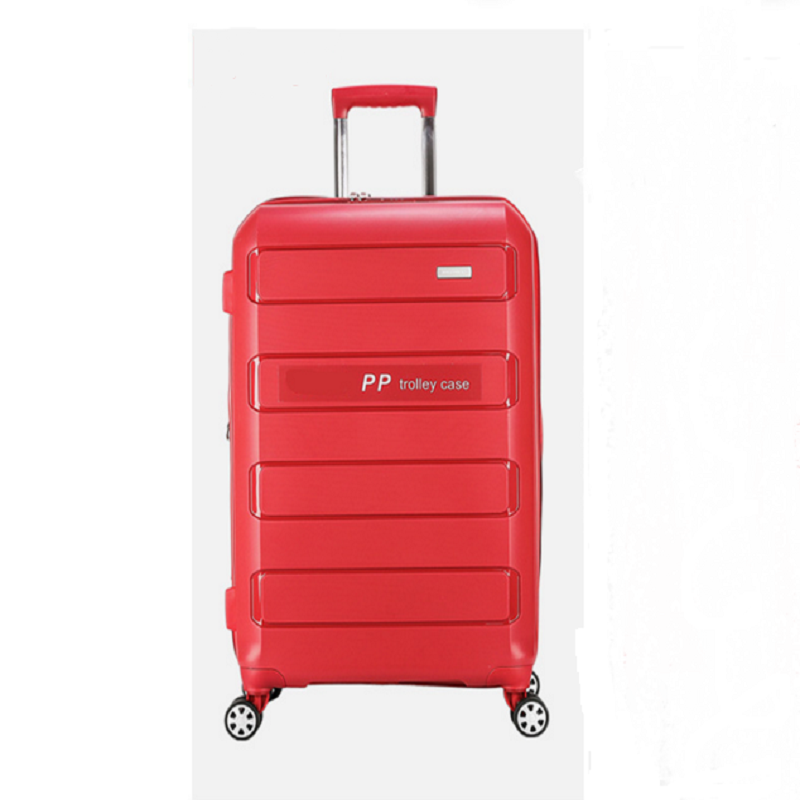 Red Pp Luggage