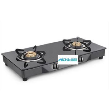 Euro 2 Burner Toughened Glass Cooktop